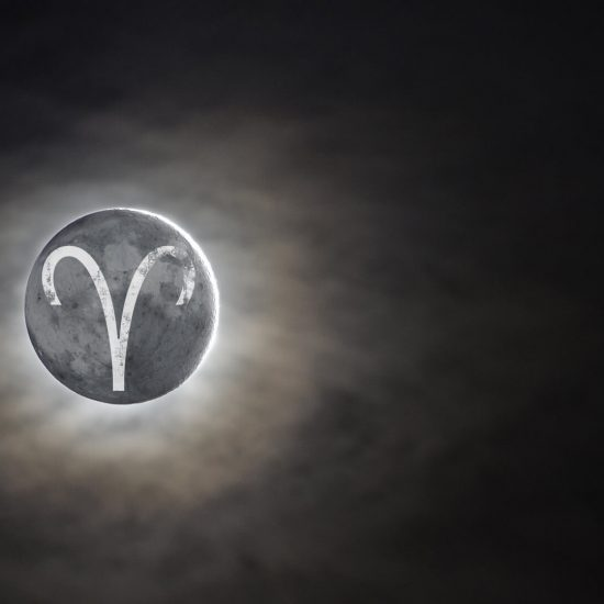 new moon in aries moon omens