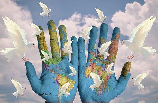 peace love harmony global moon omens