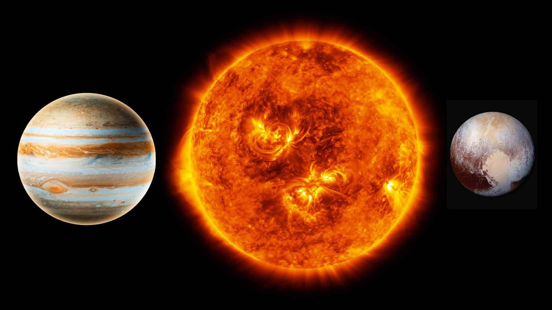 Sun opposite Jupiter and Pluto Moon Omens