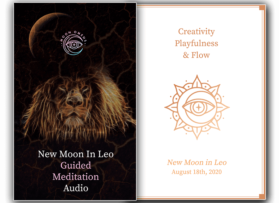new moon in leo ritual tools