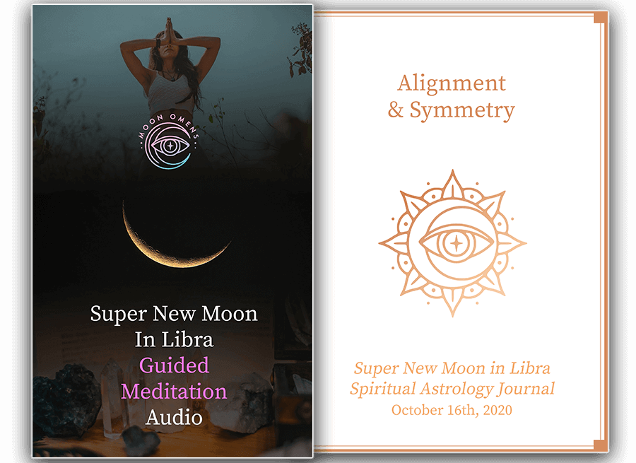 super new moon in libra Moon Omens October 2020