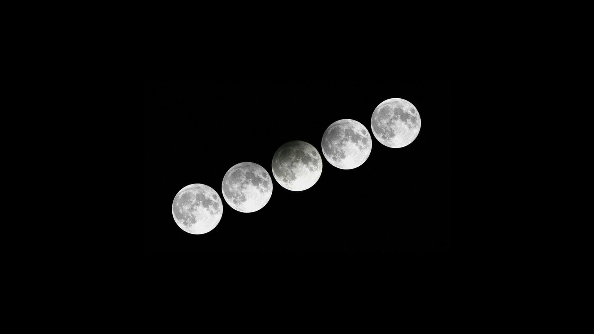 Penumbral Full Moon Lunar Eclipse
