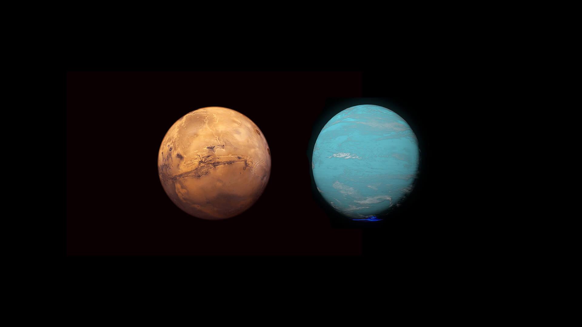 Mars conjunct Uranus