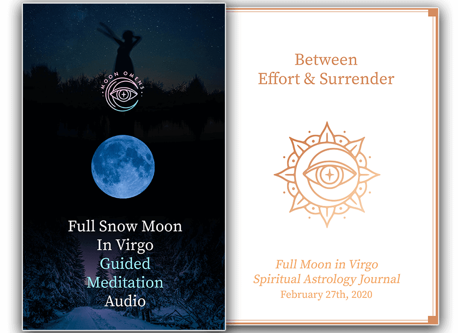 Full Snow Moon in Virgo