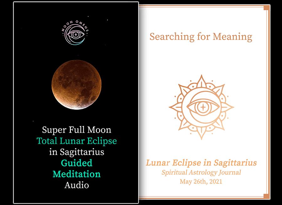 Super Full Moon Total Lunar Eclipse