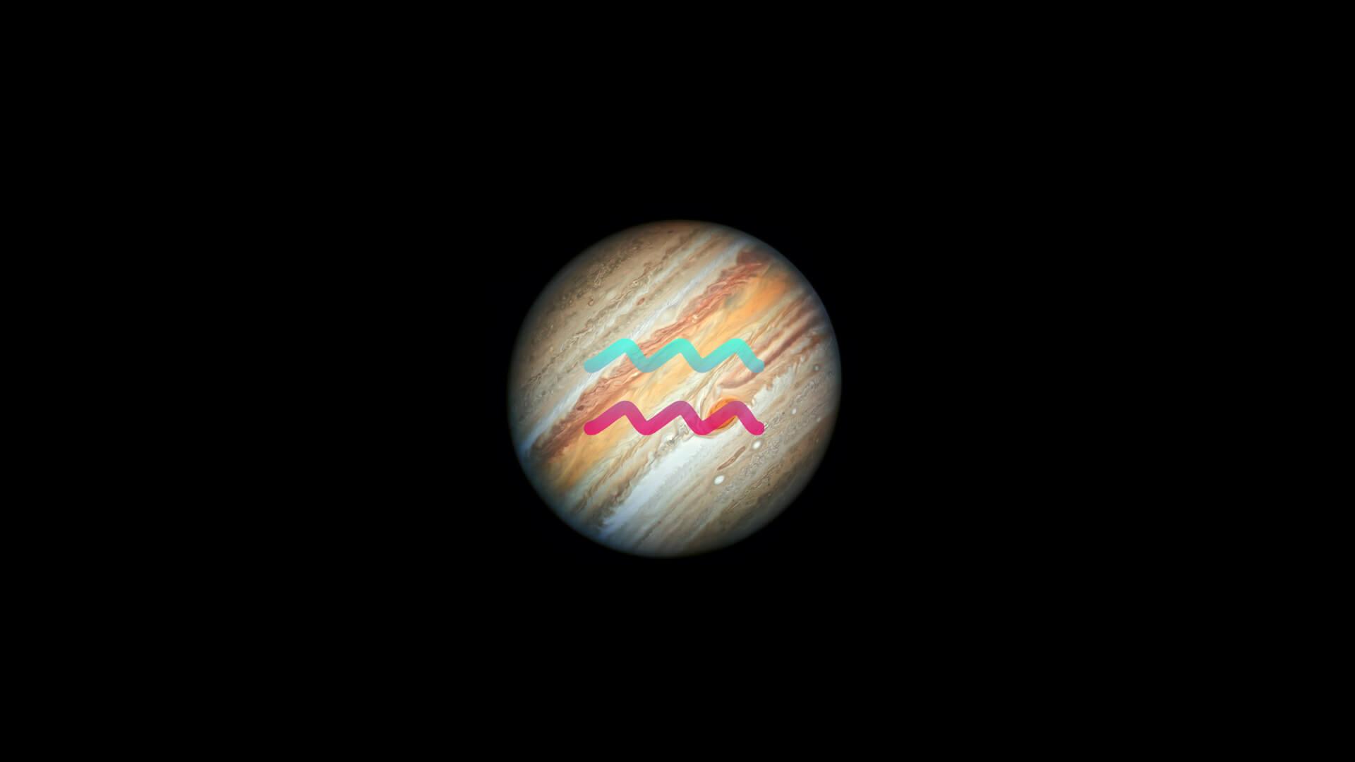 Retrograde Jupiter enters Aquarius