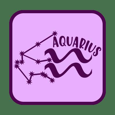 aquarius button