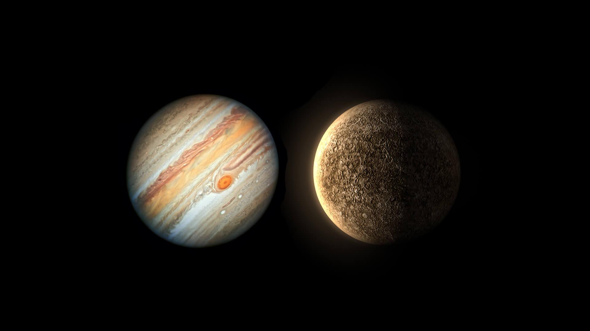 Jupiter & Mercury station Direct